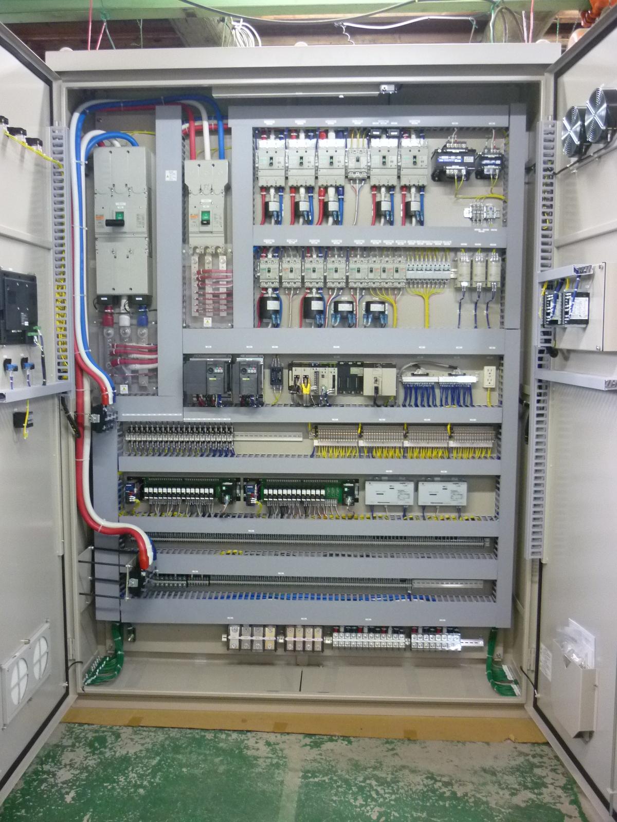 事業内容 株式会社サンエイ電機 制御盤・各種制御装置の設計~施工